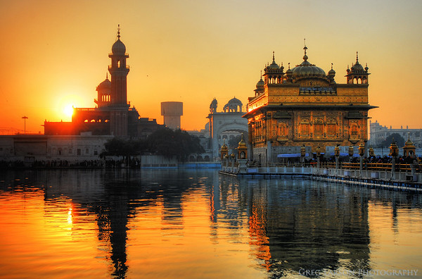 Golden Temple HDR, Amritsar, India.