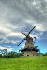Fabyan Windmill, Geneva, IL. HDR