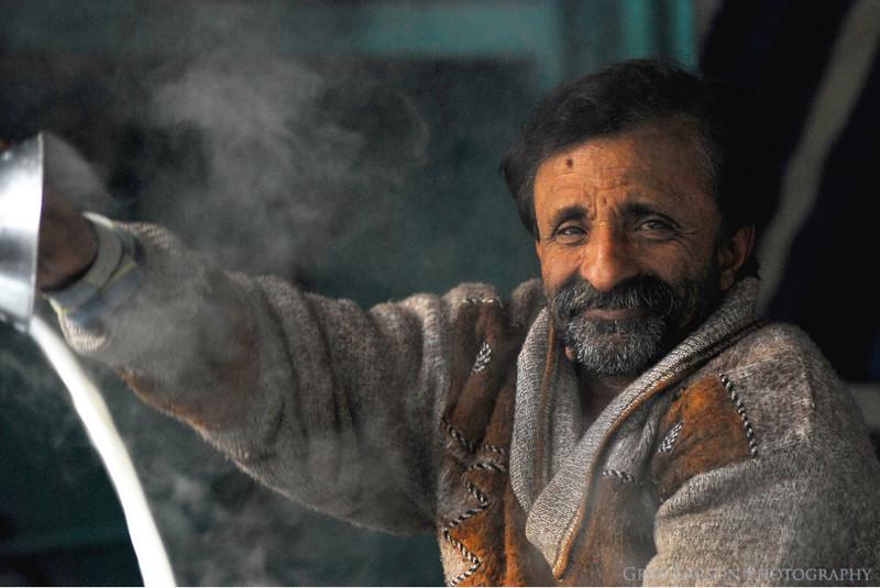 Milk Man, Haridwar, India