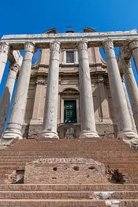 San Lorenzo in Miranda in the Roman Forum