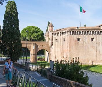 Park near Castel Sant'Angelo Marco Polo