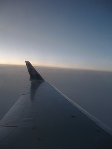 Morning coming on over Wyoming