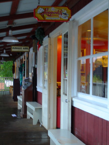 Lappert's in Koloa has passable coffee, good ice cream, and friendly local company.
