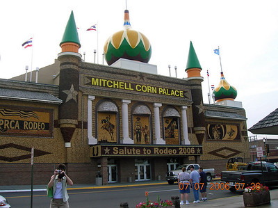 Every trip starts at the Corn Palace!