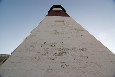 The tower was originally all white. Its single brown stripe was added in 1900.