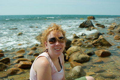 Laura and I took a break from the daunting trail into the abyss of Long Island.