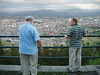 Joe & Bill looking down at Oviedo.