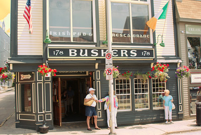 """Buskers"" is a family owned Irish Pub and Restaurant located in the heart of Newport, Rhode Island. Renovated in 2003, its owners employed architects and carpenters from Ireland to give Buskers the authentic and cozy atmosphere you can enjoy today.  The menu offers a wide variety of food and beverage. As well as the Irish staple dishes we offer American favorites and seasonal specials. We have over 18 beers on tap, a vast selection of Irish and Scotch whiskies and pride ourselves on our extensive and affordable wine menu. We have won awards for our Irish Coffee and Margarita. Buskers is a member of the Kinsale Fine Food Festival since 2004.  http://maps.google.com/maps?oi=map&q=178+Thames+St,+Newport,+RI+02840"