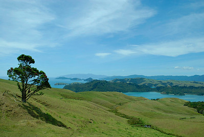 Looking down the northern end of the Coromandel.