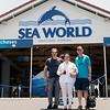 Sea World with Mel, Don and John