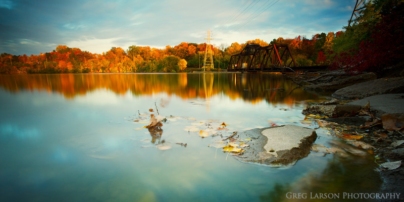 Mirrored Colors of Fall - Pano