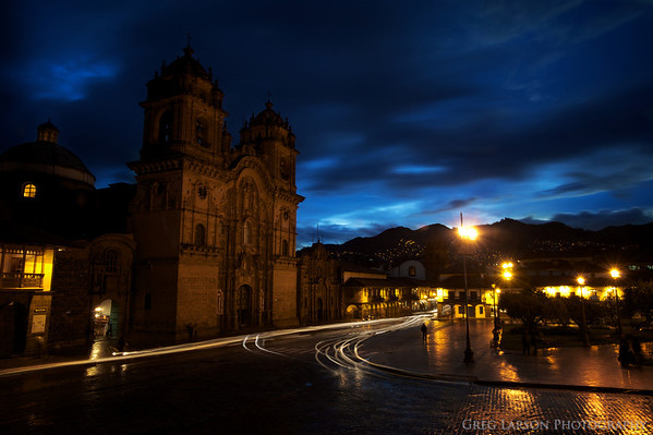 Iglesia La Compañía de Jesús, Cusco, Peru