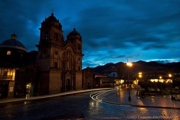 Iglesia La Compañía de Jesús, Cusco,