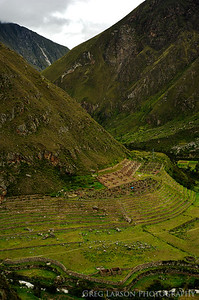 Patallacta Ruins, Inca Trail Peru