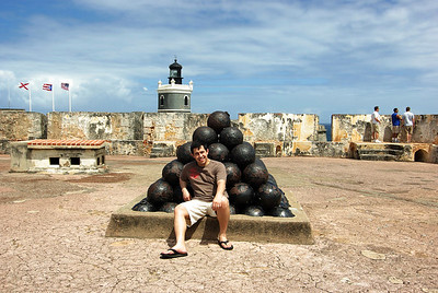 The Castillo de San Cristóbal is a Spanish fort in San Juan, Puerto Rico. It was built by the Spaniards to protect against land based attacks on the city of San Juan. It is part of San Juan National Historic Site.