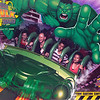 Geoff on the Incredible Hulk Roller Coaster