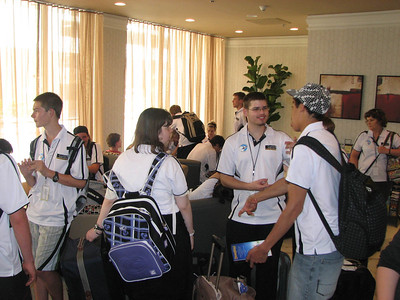 2009_09_19 - LA Space Camp arrival Holiday Inn LAX