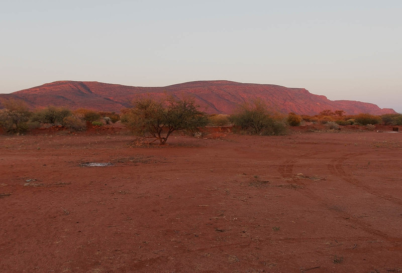 Dawn at Mt Augustus Outback Toursit Park