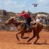 Meekatharra Rodeo 2014 - Barrel Racing