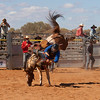 Meekatharra Rodeo 2014 - Bronco Riding