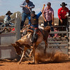 Meekatharra Rodeo 2014 - Bronco Riding