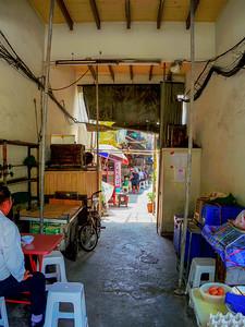 Alley Between Shops