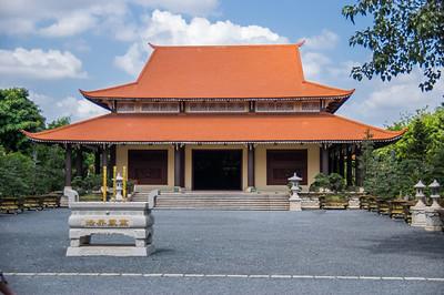 Temple, Ho Chi Minh, Vietnam