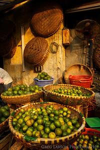 Market in Hanoi, Vietnam.