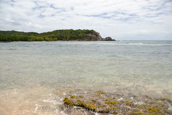 At the beach - Bolongo Bay