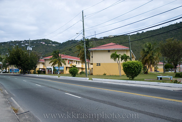 On our walk to Charlotte Amalie