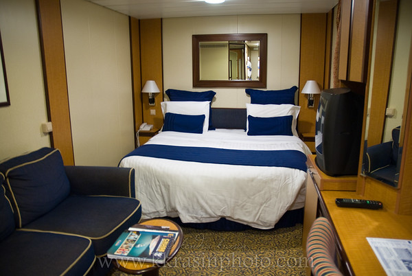 Our interior stateroom, 2015