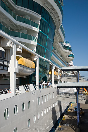 One of our first views of the ship