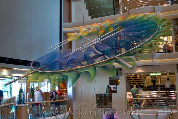 The artwork in the Centrum