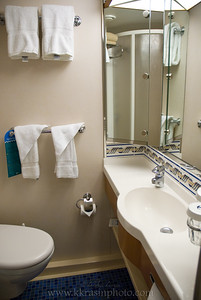 And the teeny-tiny bathroom