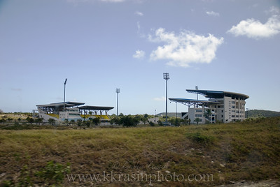 Another photo of the cricket stadium