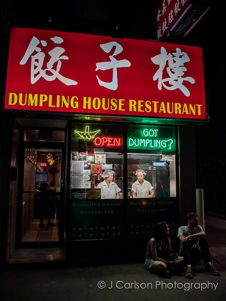 Toronto Night Street Photography