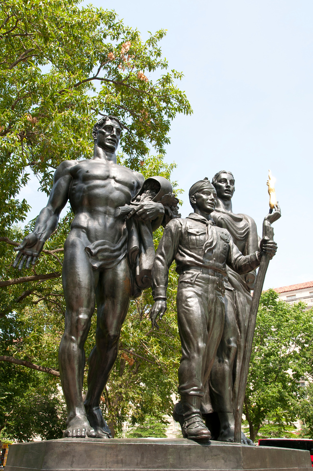 Boy Scouts of America monument