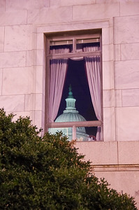Reflection of Capitol Building