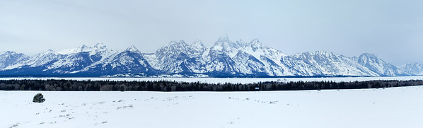 Tetons in Winter