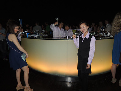 """""""Yim yim?"""" I ask. Taken aback by my skilled Thai slang, the servers giggle and cheers to me at the Sky Bar. This is where Hang Over II was filmed. This is also the world's highest open air bar."""