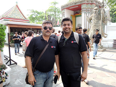 Trend Micro guys from India smile too! Or at least, try.