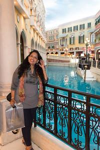 Anu at Venetian Hotel, Macau.