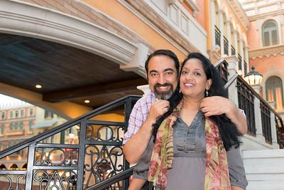 Anu & Suchit at Venetian Hotel, Macau.