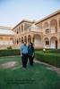Anu & Suchit at the Club Mahindra Jaisalmer Resort, in Jaisalmer, Rajasthan.