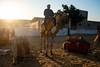 Suchit on a camel at the Sam Desert dune in Jaisalmer, Rajasthan.