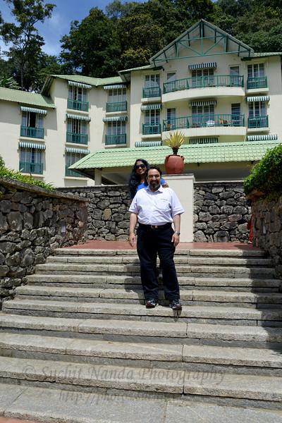 Suchit Nanda at Club Mahindra, Munnar, Kerala, India.