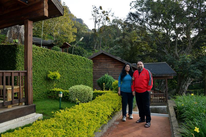 Anu & Suchit Nanda at Club Mahindra, Munnar, Kerala, India.