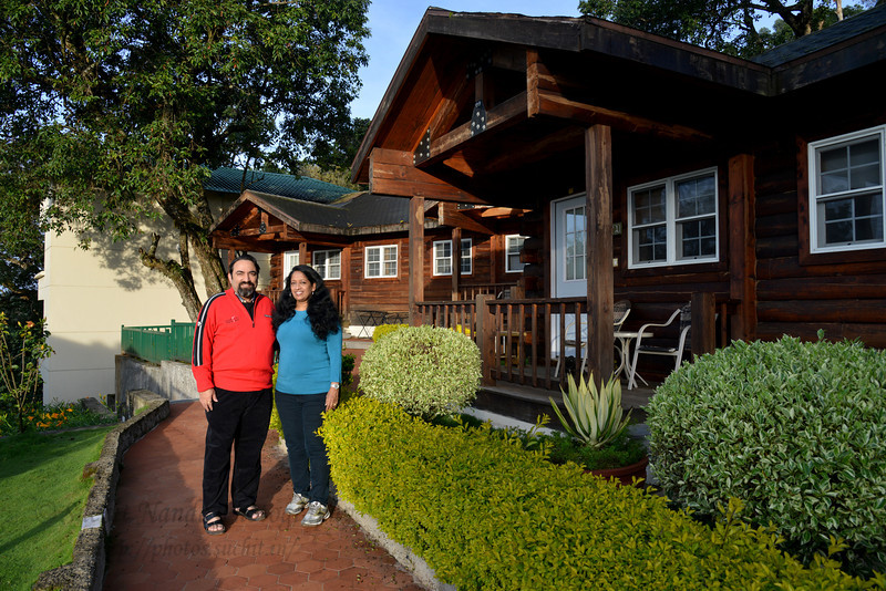 Anu & Suchit Nanda at Club Mahindra, Munnar, Kerala, India.