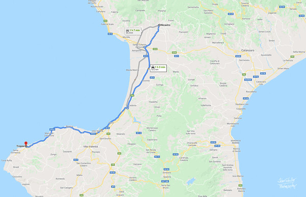 Map 14 - LT to Tropea