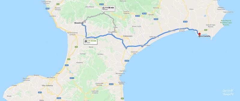 May 14 - Nicastro to Le Castella